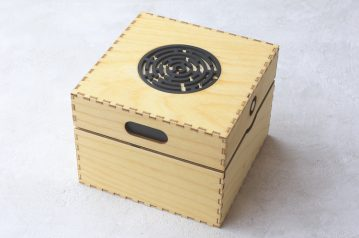 Apprentice Mazze Puzzle Box, laser cut